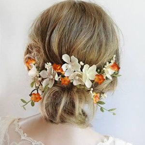 Beautiful Floral Wedding Hair Piece